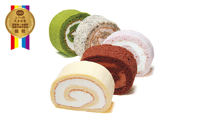 七夕の郷茂原 5色のロールケーキ